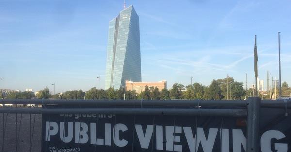 Das EZB-Gebäude von Coop Himmelb(l)au. Der Blick auf Frankfurts Büromarkt ist gerade wenig erfreulich