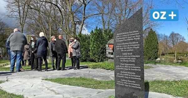 Grimmen: Gedenkstein für die Opfer des Holocaust eingeweiht