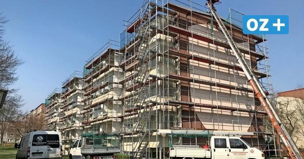 Bad Doberaner Plattenbau wird für rund 100 000 Euro instand gehalten