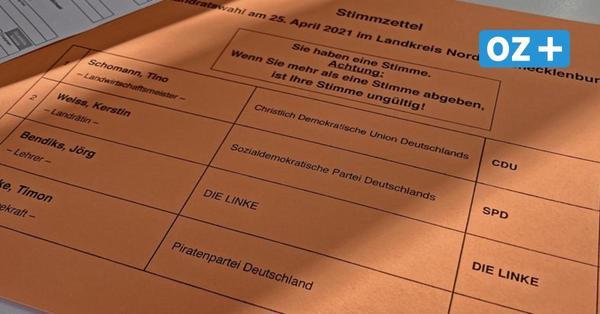 Stichwahl in Nordwestmecklenburg: Das müssen Sie als Wähler beachten
