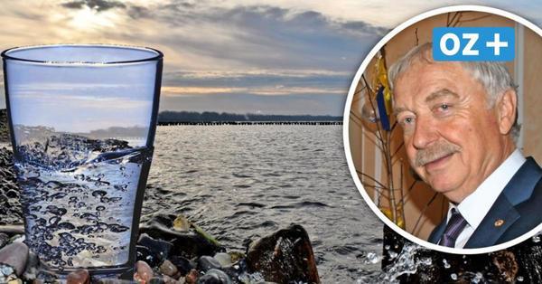 Neues Ostprodukt aus MV: Unternehmer gewinnt Tafelwasser aus der Ostsee vor Rügen