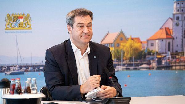 Bayern: Söder hat erste Corona-Impfung mit Biontech-Vakzin erhalten