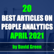 The Best HR & People Analytics articles of April 2021