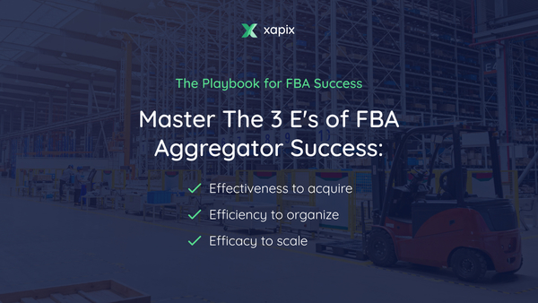 The Playbook for FBA Success - Mastering the 3 Es