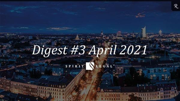 Im Spirit Legal Digest fassen wir die wichtigsten Signale des Monats zusammen.