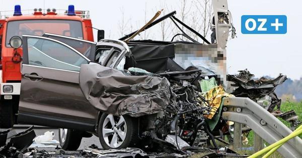 Horror-Crash bei Lubmin: Autofahrer stirbt nach Zusammenstoß mit Lkw
