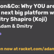 Why YOU Are The Next Big Platform