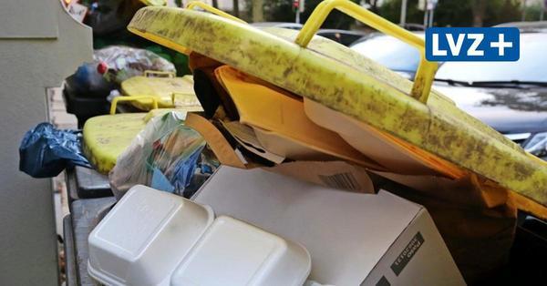 Kampf gegen Corona-Müll: Mehr Pappe, mehr Plastik – wie Leipzigs Müllberg wächst