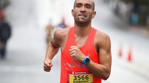 Course à pied : Dominic Royer a couru 9000 km en 12 mois