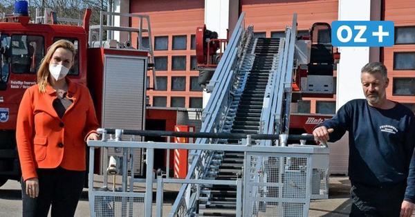 Sicherheit geht vor: Drehleiter der Heringsdorfer Feuerwehr muss noch mal repariert werden