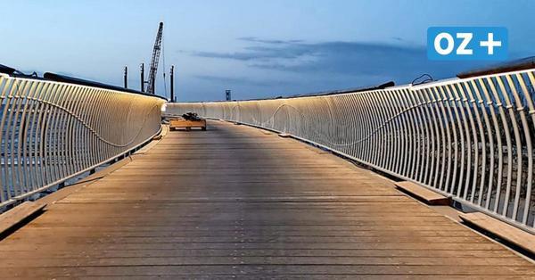 Es werde Licht! Koserower Seebrücke erstrahlt im neuen Antlitz