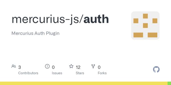GitHub - mercurius-js/auth: Mercurius Auth Plugin