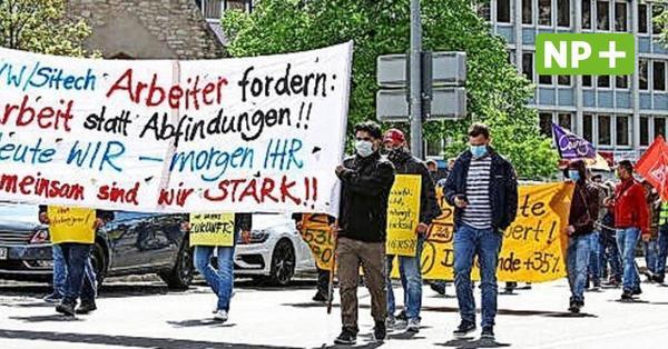 1. Mai in Hannover: Gewerkschaften, Tierschützer und Corona-Leugner gehen auf die Straße