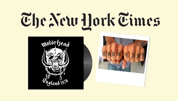 Reclaiming the blackletter style through media and pop culture