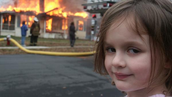 Zoe Roth, la femme du mème « Disaster Girl », a vendu un NFT de la photo 500 000 $