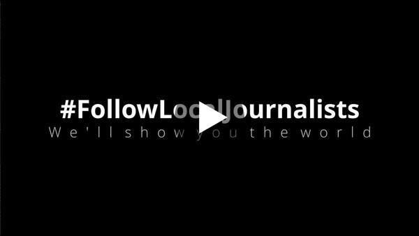 #FollowLocalJournalists