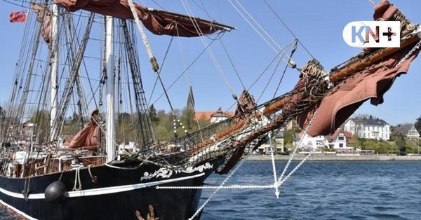 In Eckernförde bieten sich Großsegler als Hotelschiffe an
