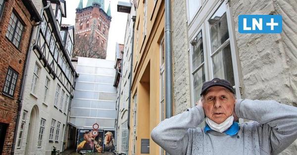 Umbau an Lübecks Figurentheater und -museum: Anwohner leiden unter Baulärm am Kolk
