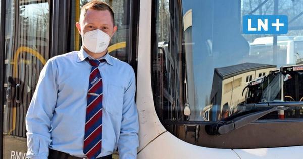 So erlebt ein Busfahrer im Herzogtum Lauenburg die Corona-Zeit