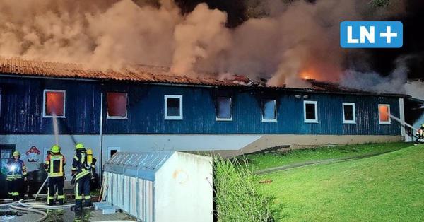 Feuer in Flüchtlingsunterkunft in Gudow – Großeinsatz der Feuerwehr