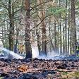 Schon wieder Moorbrand: 5000 Quadratmeter Barker Heide wurden Opfer der Flammen