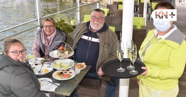 Gastronomie im Kreis Plön - Die Kälte bremst das Terrassengeschäft