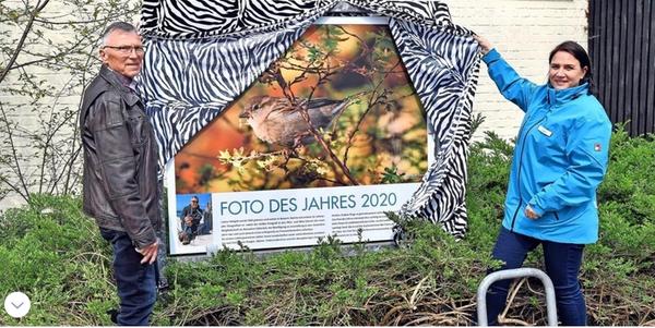 """""""Bild des Jahres"""": Wilde Untermieter im Rostocker Zoo erwischt"""