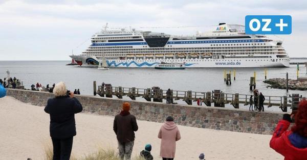"""Kreuzfahrtschiff """"Aidasol"""" in Rostock-Warnemünde: Das ist der Grund für den Besuch"""