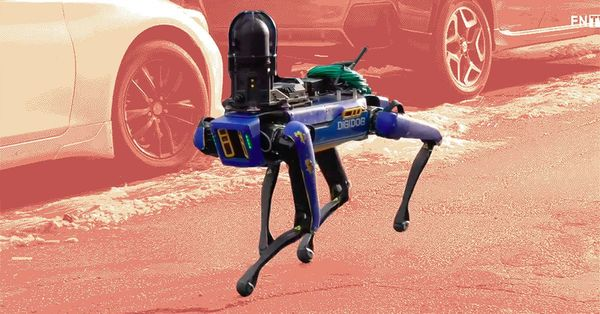The NYPD is sending its controversial robot dog back to the pound