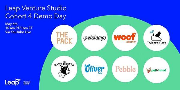Leap Venture Studio Cohort 4 Demo Day   10:00 AM
