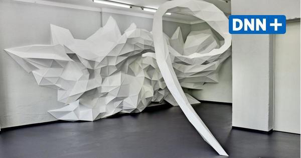 Installationen von Matthias Lehmann in der Alten Feuerwache Loschwitz