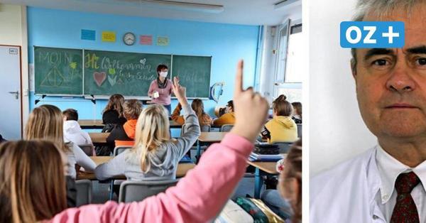 MV kann die Schulen jetzt wieder öffnen – sagt Corona-Experte Reisinger
