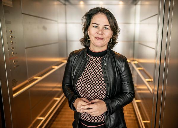 Annalena Baerbock, Bundesvorsitzende von Bündnis 90/Die Grünen. Foto: Michael Kappeler/dpa