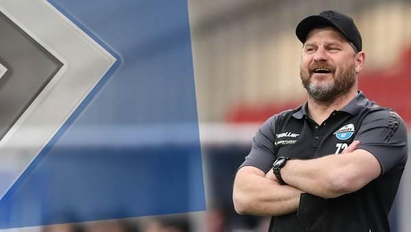 Starke Konkurrenz für 96: Schnappt der HSV Wunschtrainer Baumgart weg?