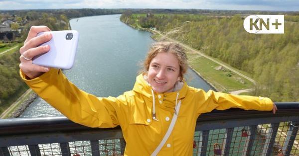 Hockbrücken-Selfies: Fotos mit Folgen in Kiel