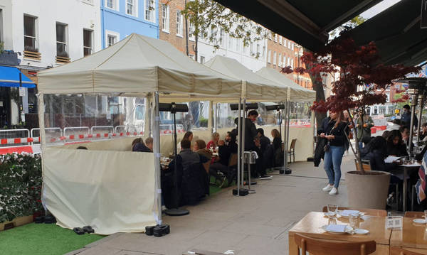 Tell Camden what you think about 'streateries' in Fitzrovia