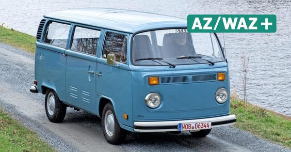 Elektrische Zeitreise: Autostadt restaurierte VW E-Bulli von 1979