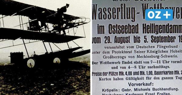 Warum ein Wasserflugzeug 1912 in die Steilküste von Heiligendamm flog