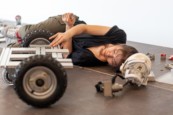 Could we love machines? Korean artist Geumhyung Jeong's performative robots test our empathy