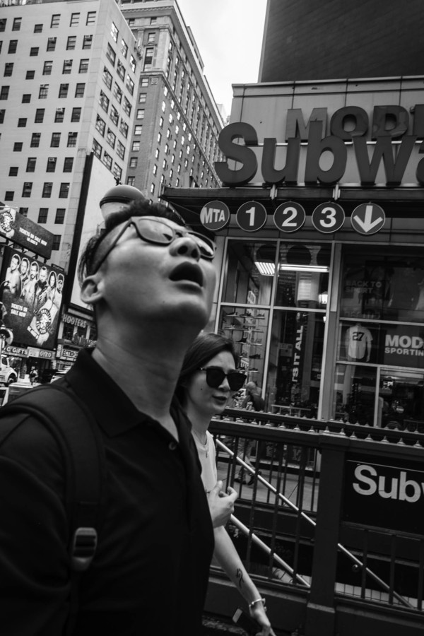 Monochrome Mood 6, New York City, August 2018.