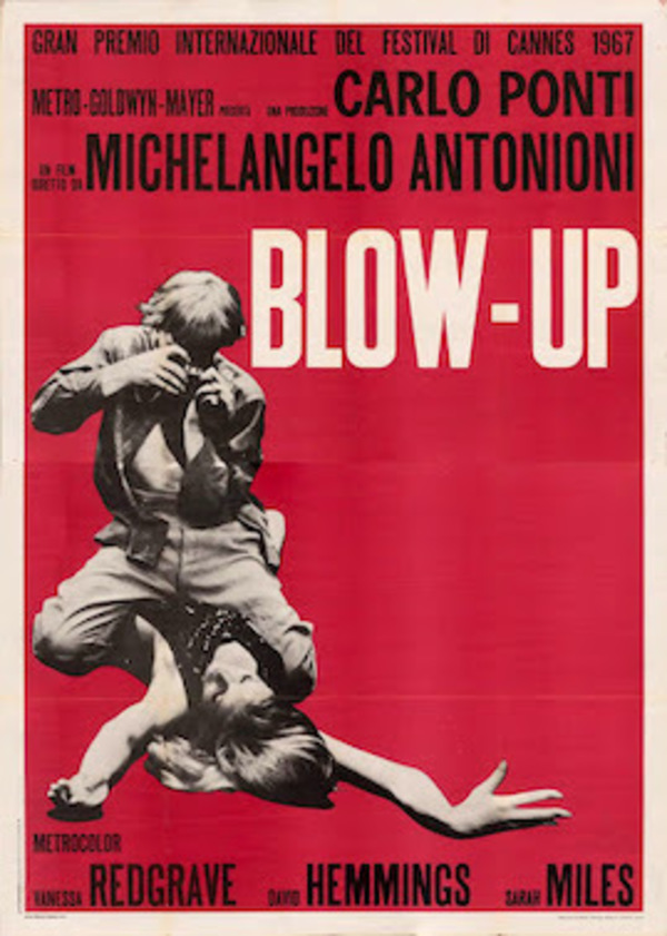 Michelangelo Antonioni's Blow-Up, 1966.