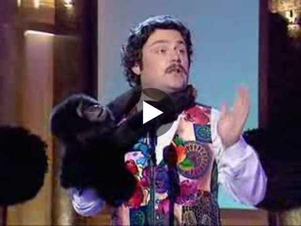 Alan Partridge Cheeky Monkey Clip