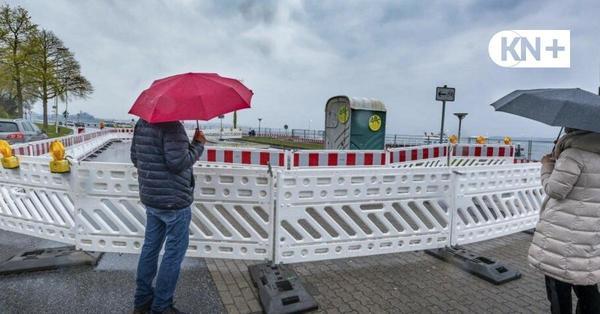 Kampfmittelsondierung in Kiel: Sanierung der Kiellinie dauert noch länger