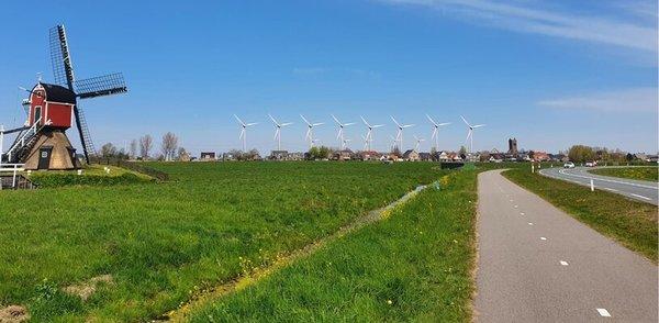 Vereniging Hoogmadesche Polder start petitie: 'Geen windturbines bij Hoogmade'
