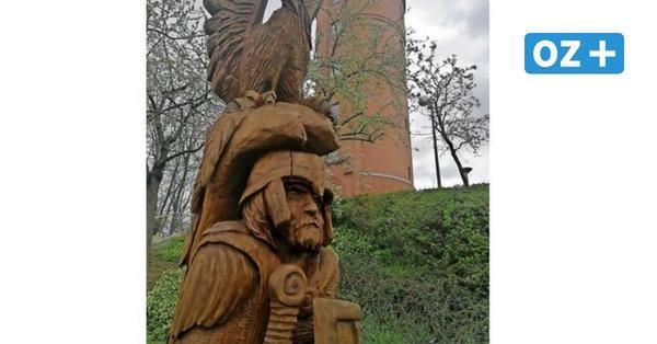 So werden Kunstwerke in Grimmen von Polizei und Stadt geschützt