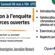 8 mai Webinaire : initiation à l'enquête en sources ouvertes