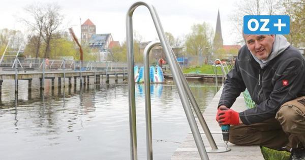 Was sich im Rostocker Flussbad nach dem Lockdown ändert