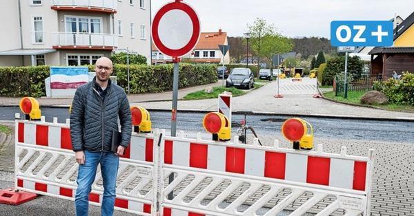 Baustellen-Irrsinn in Rostock: Anwohner in Kassebohm von Außenwelt abgeschnitten