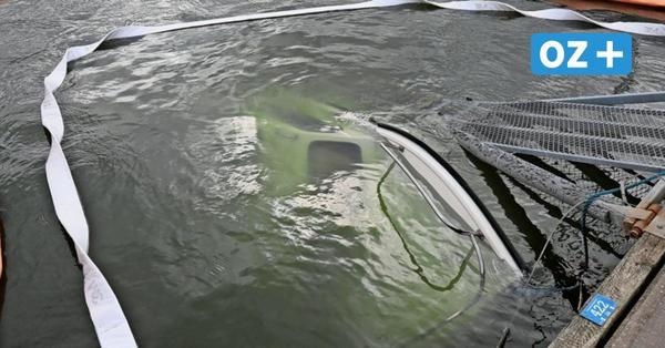 """Motorboot im Stralsunder Hafen gesunken – Bergung """"so schnell wie möglich"""""""