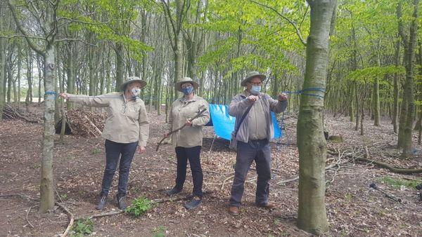 Les Rangers vous emmènent à la découverte des animaux et des plantes du domaine provincial Palingbeek - Rangers nemen je op sleeptouw in provinciedomein Palingbeek